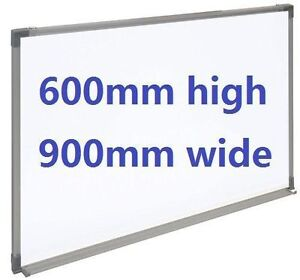Office Magnetic Whiteboard 600mm highx900mm wide Burwood Whitehorse Area Preview