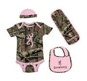 Pink Camo Baby Clothes