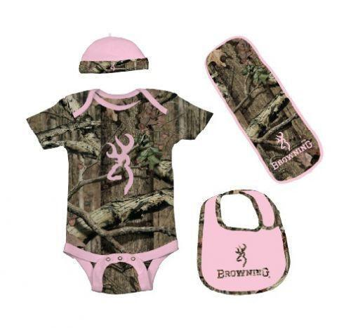 Pink Camo Baby Clothes...