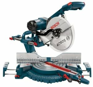 """scie a onglet coulissante bosch 5312 12"""" miter saw valeur 800+tx"""