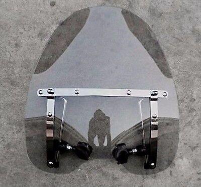 Smoke Motorcycle Windshield for Honda Magna Shadow Spirit Sabre 600 750 1100 Honda Custom Motorcycles