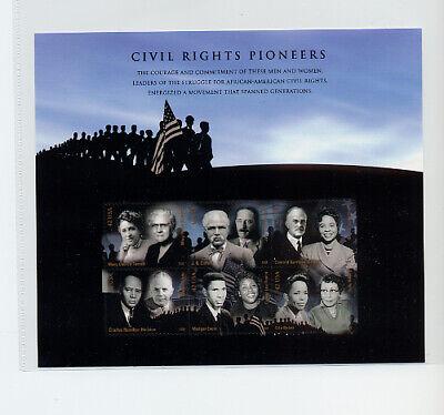 4384 Civil Rights Pioneers 42c Sheet of 6