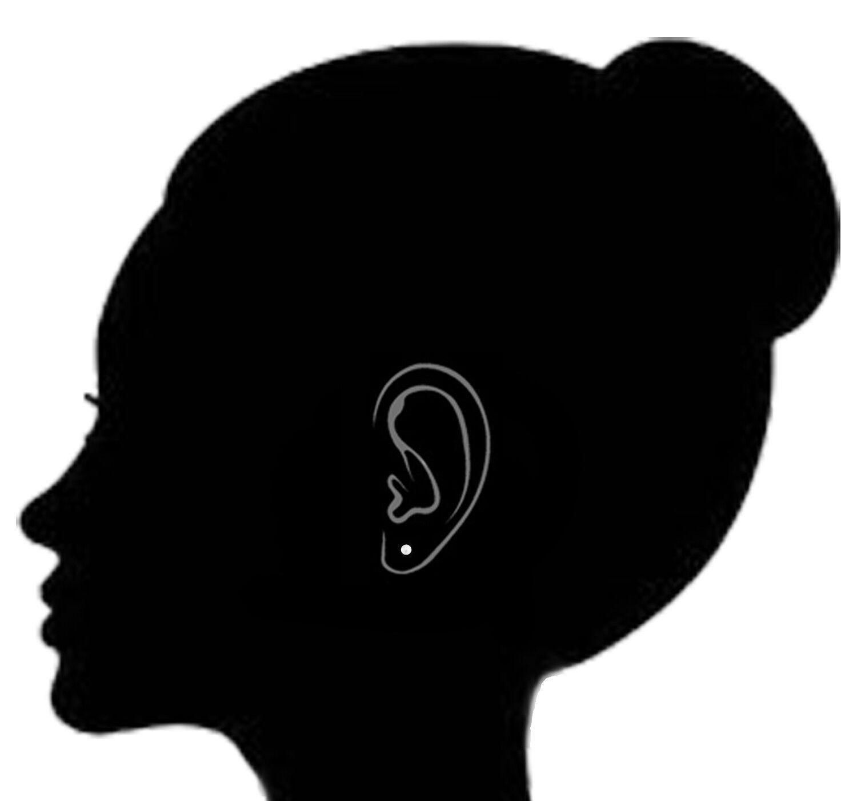 14K Solid Gold Fresh Water Cultured Pearl Stud Earrings 5mm