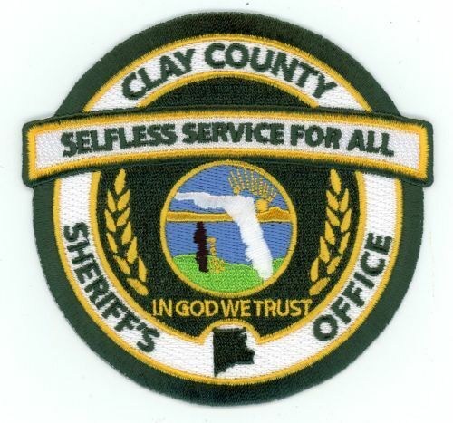 CLAY COUNTY SHERIFF FLORIDA FL NICE NEW COLORFUL PATCH POLICE