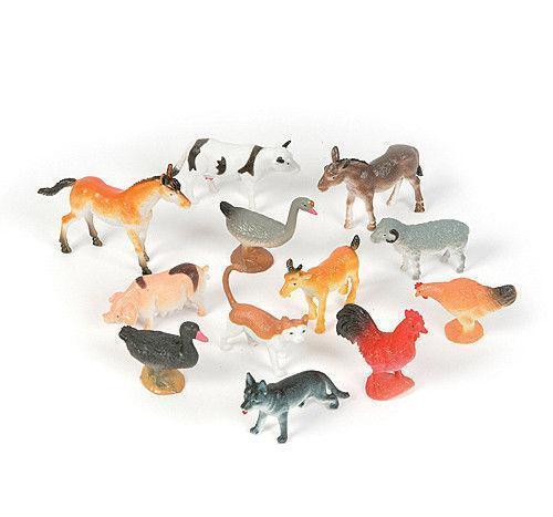 Plastic Farm Animals Ebay