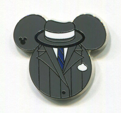 GANGSTER COMPLETER Great Movie Ride 2015 Hidden Mickey Cast Costume Disney Pin - Disney Movies Costumes