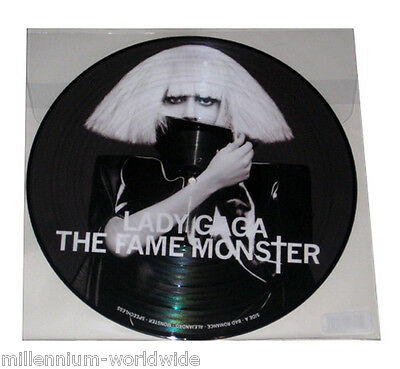 """NEW - LADY GAGA - THE FAME MONSTER - 12"""" VINYL LP - PICTURE DISC RECORD ALBUM"""