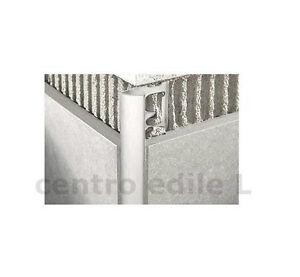 Profilo jolly rivestimenti in alluminio per piastrelle gres porcellanato bagni - Angoli per piastrelle ...