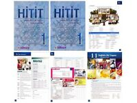HITIT TURKISH EDUCATION SET FOR BEGINNERS A1-A2 (TEXTBOOK-WORKBOOK-AUDIO CD)