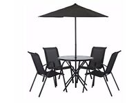 Sicily 4 Seater Patio Set 117.