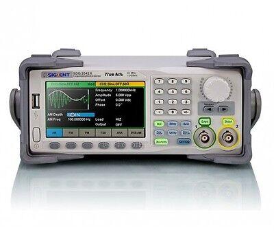 Siglent Sdg2042x Functionarbitrary Waveform Generator 40 Mhz 1.2 Gsas 16 Bits
