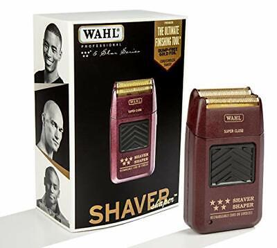 - Wahl 5 Star Professional Shaver Shaper Cordless Bump Free #8061