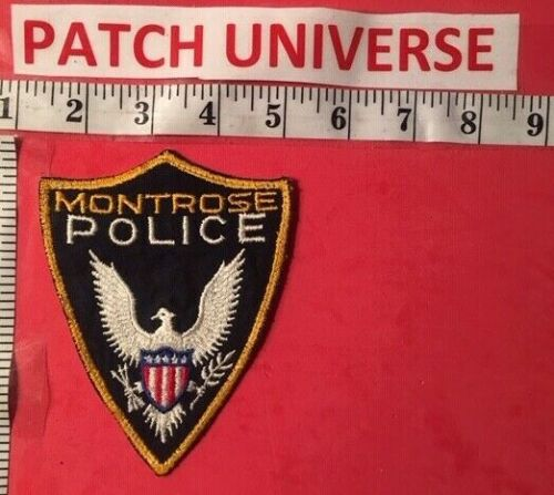 MONTROSE  COLORADO POLICE  SHOULDER PATCH  G023