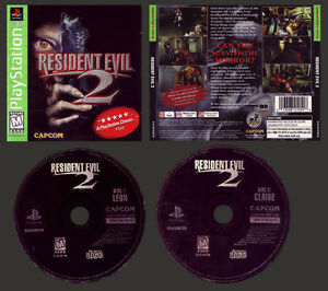 Resident evil 2 - PS1 complet