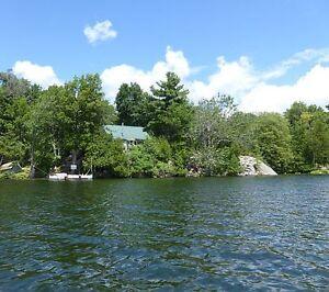 Unique Newboro lake ISLAND cottage, part of the Rideau system