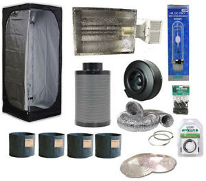4 Plants Complete Package W/ 3x3 Tent & 315W Kit & Accessories