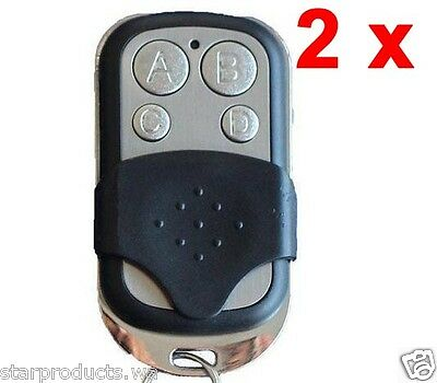 2x Remote Control 433.92MHz LM124 Replace LM122 Lockmaster Gate Garage Opener