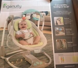 Ingenuity Convertme Swing-2-Seat **NEW IN BOX**