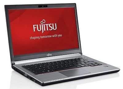 New Fujitsu Lifebook E734 8GB 128GB SSD factory warranty until 2019 SSD, No BIOS