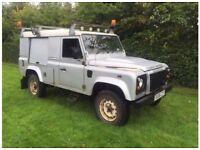 Land Rover defender 110 2.4tdci 6 speed puma 08reg county pack