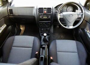 2007 Hyundai Getz Silver Manual Hatchback Hendon Charles Sturt Area Preview