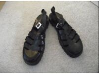 Black Juju Jelly Shoes - Size 8
