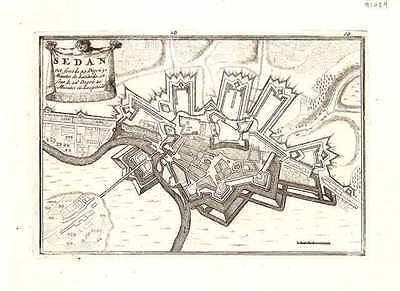 Antique map, Sedan