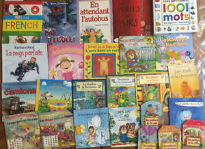 FRENCH children's picture books $3 each or all 25 for $50 London Ontario image 1