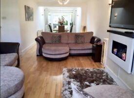 DFS sofa set excellent condition