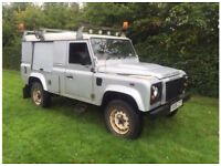 Land Rover defender 110 2.4tdci puma 6 speed 08plate 1 owner fsh county pack