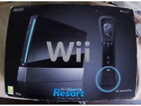 Nintendo Wii Console, Hand Control, USB, Instruction Booket