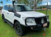 2014 Toyota Landcruiser VDJ200R MY13 GX White 6 Speed Automatic Wagon Berrimah Darwin City Preview