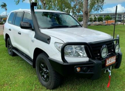 2014 Toyota Landcruiser VDJ200R MY13 GX White 6 Speed Automatic Wagon Berrimah Darwin City Preview