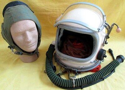 Original USSR G-6 AF/Naval Carrier/Space Pilot Helmet+Communication Helmet/RARE!
