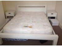 Double bed with matress