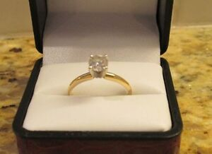 Diamond Engagement Ring - Solitaire appraised at $2360