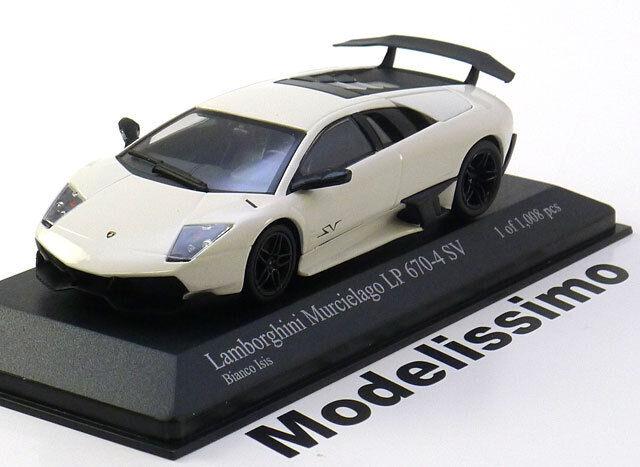 1:43 Minichamps Lamborghini Murcielago LP670-4 SV 2009 white
