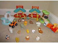 ELC Happy Land Zoo set