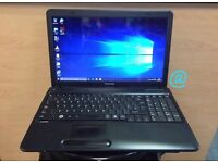 Toshiba Fast HD Laptop, 4GB Ram, 320GB, Genuine Windows 10, Microsoft office, Good Condition
