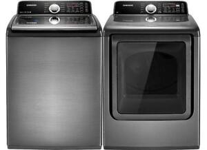 TOP LOAD WASHERS & DRYERS ONLY $199 WITH WARRANTY