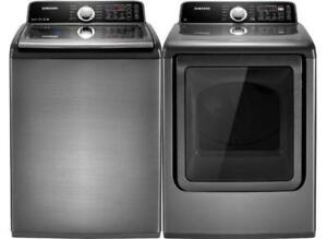 TOP LOAD WASHER & DRYER $299 SALE ENDS SUNDAY WITH WARRANTY