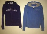Aeropostale zip up sweaters