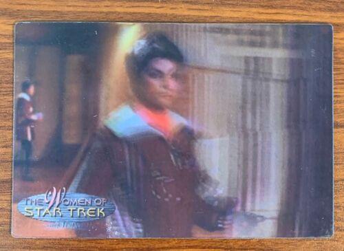 2000 Rittenhouse Women of Star Trek in Motion #27 Lt. Saavik Free Shipping