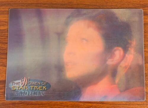 2000 Rittenhouse Women of Star Trek in Motion #18 Colonel Nerys Free Shipping