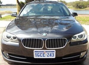 2010 BMW 528I Grey Sports Automatic Sedan Glendalough Stirling Area Preview