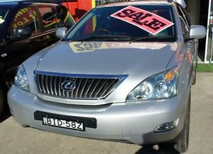 2008 Lexus RX350 Silver Automatic Wagon Lansvale Liverpool Area Preview