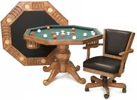 Looking for bumper pool/poker/games table