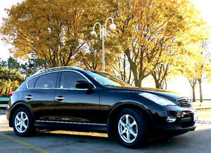 Infiniti EX35 Navigation Package+Set of Winter Allloy with Tires