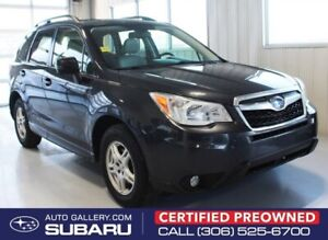 2015 Subaru Forester LIMITED | FULL TIME ALL WHEEL DRIVE | LOW M