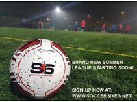 6-A-SIDE FOOTBALL LEAGUE IN YOUR LOCAL AREA